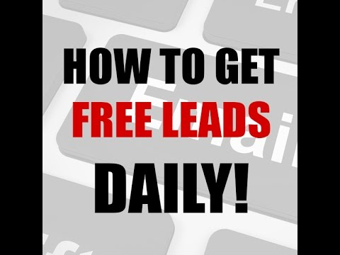 How I Get Free Targeted Leads Daily with my list of 200,000+ Prospects
